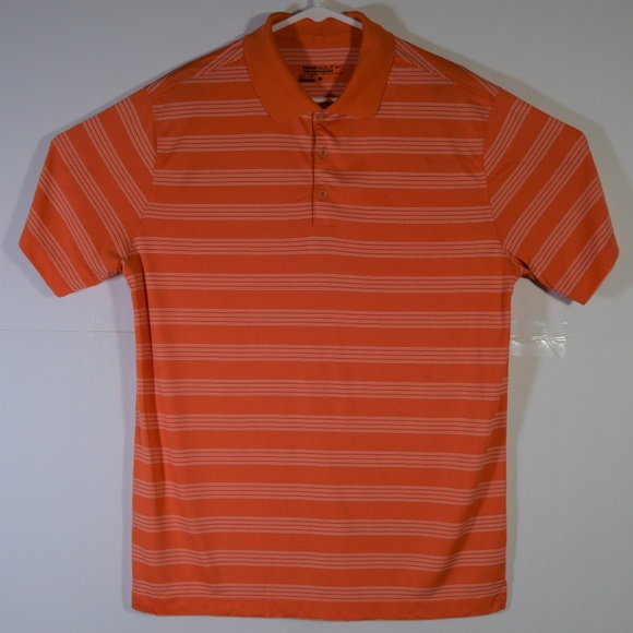 6bab11d7 Nike Shirts | Golf Tour Performance Drifit Orange Polo | Poshmark